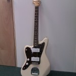 Rare left handed Jazzmaster from Fender Japan
