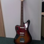 Rare left handed Jaguar from Fender Japan