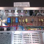 High quality wiring on this nice re-issue amplifier