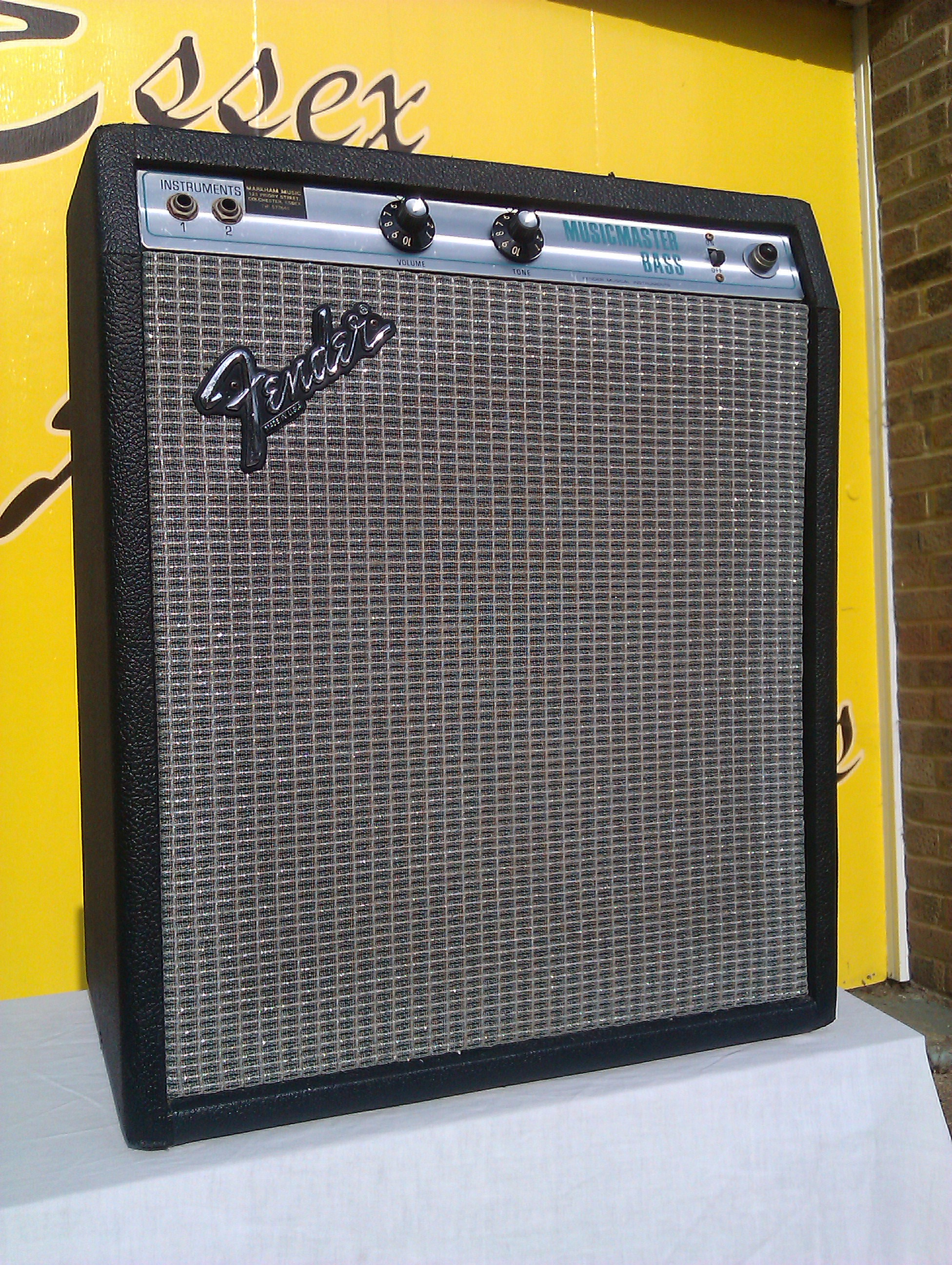 Rare small bass amp from the mid 1970's