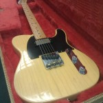 The Bare Knuckles' Mule pickup makes a great upgrade for the Tele.