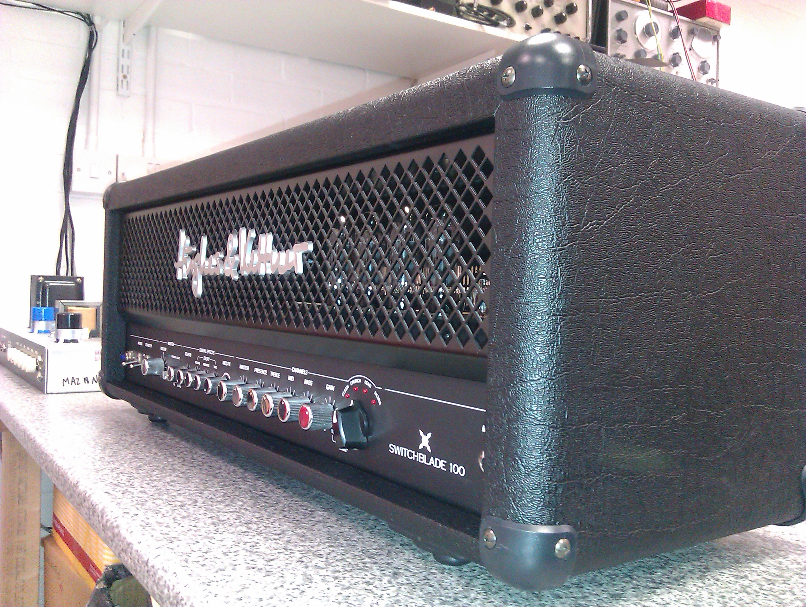 Great versatile amp, now fitted with Triode/Pentode mode selector switch
