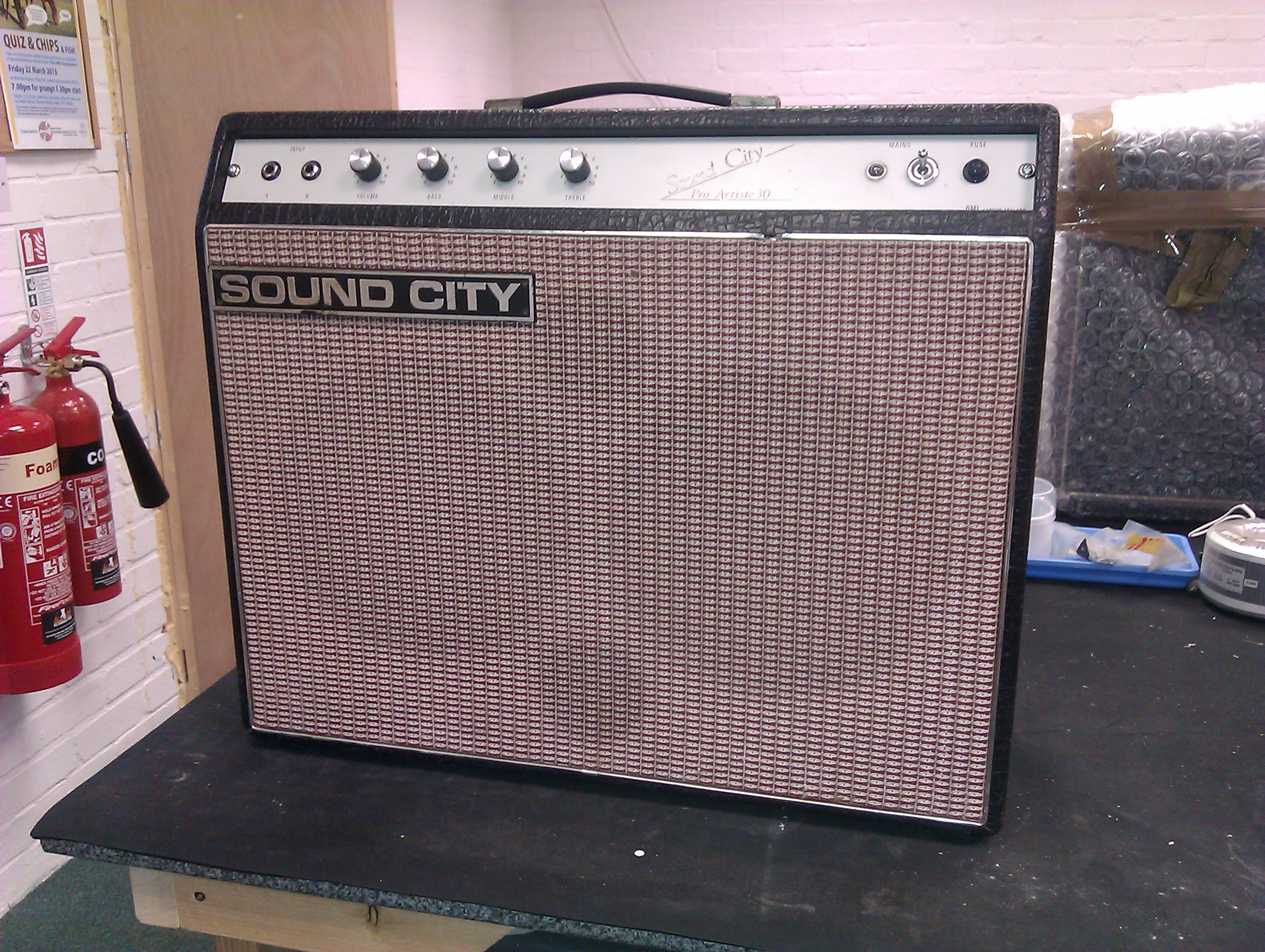 Rare solid state 30W combo from the mid 70's