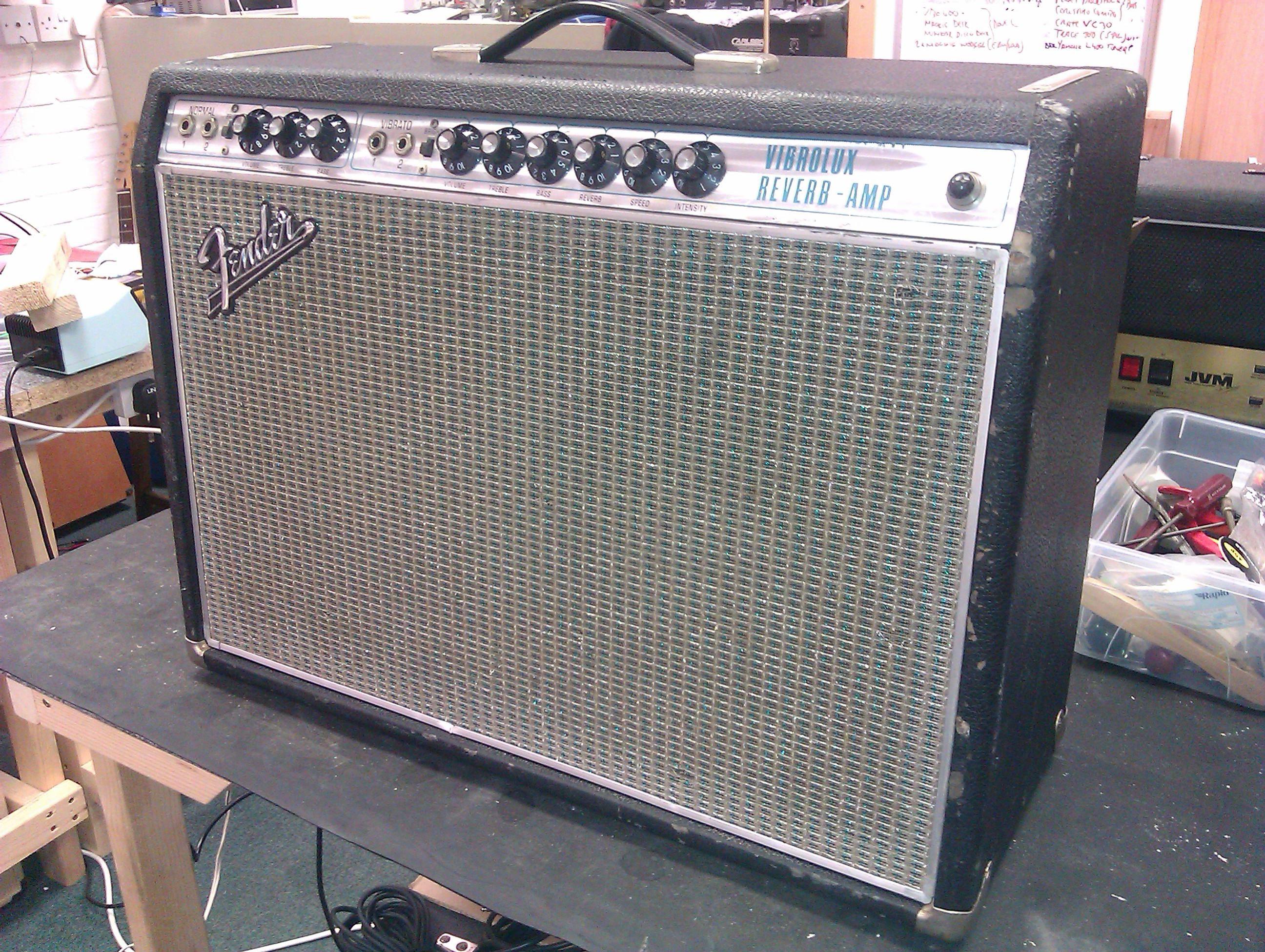 Early silver face Fender Vibrolux Reverb.