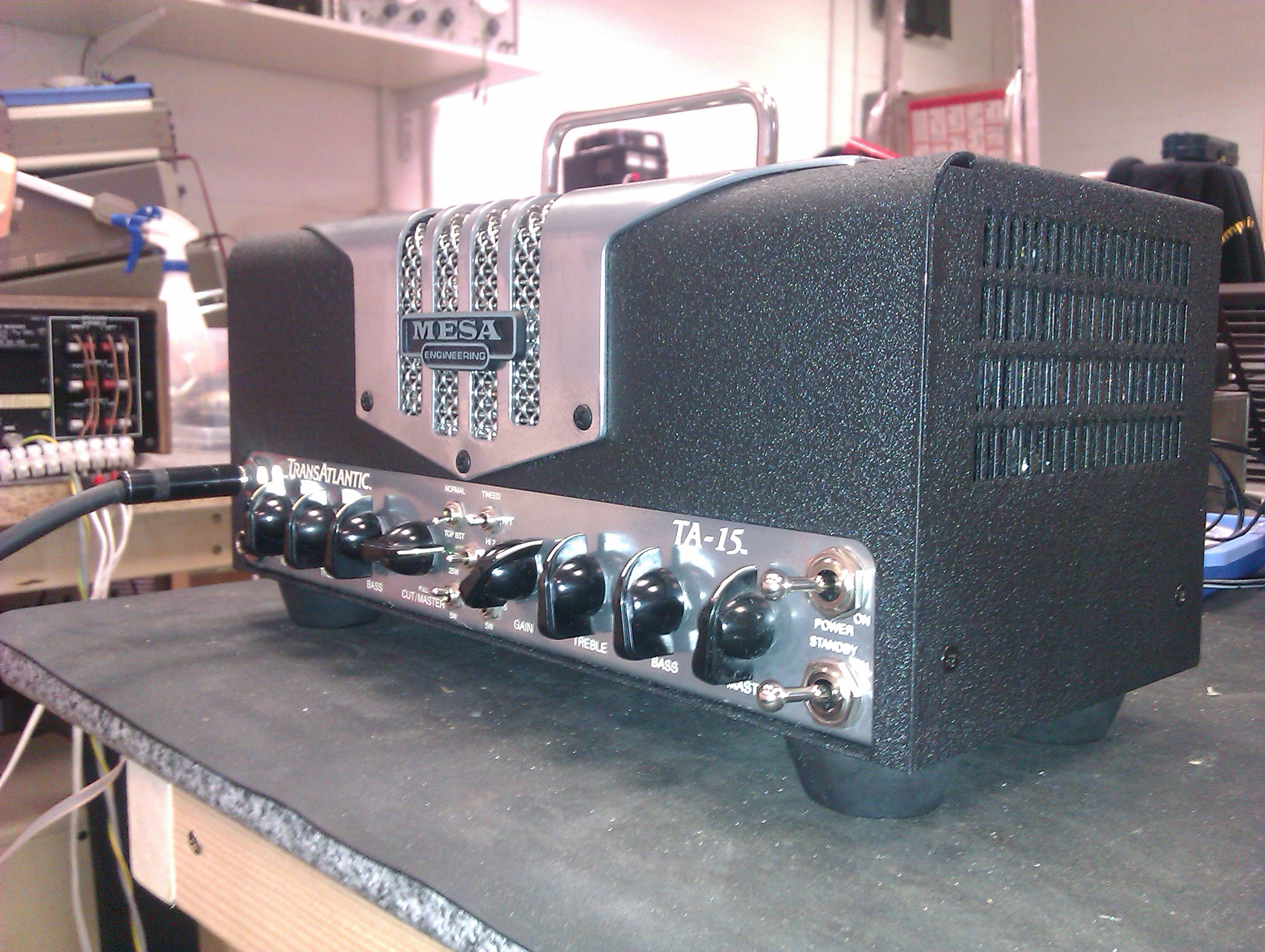 Mesa Boogie TA-15 - mini tone machine