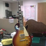 "Gibson Custom Shop Les Paul. A new ""relic"" from Gibson's famous Custom Shop"