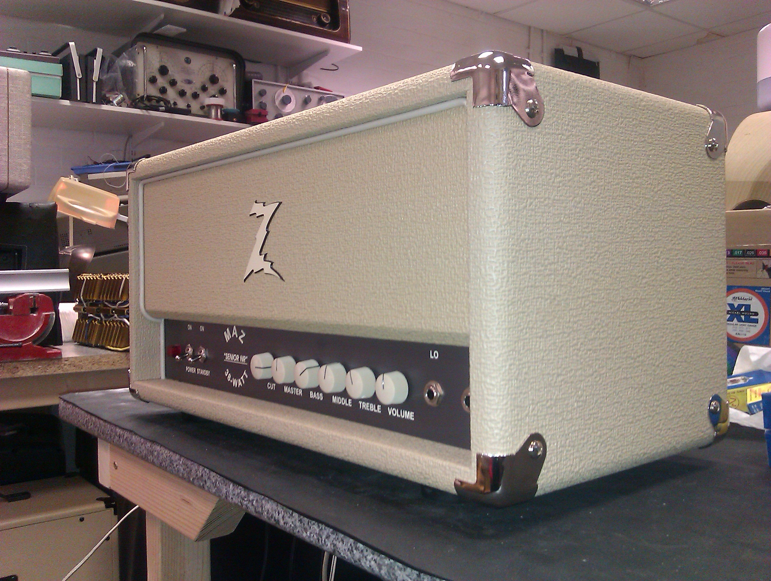 The great Maz 38 NR, fitted with the Essex Amp Repairs reverb mod