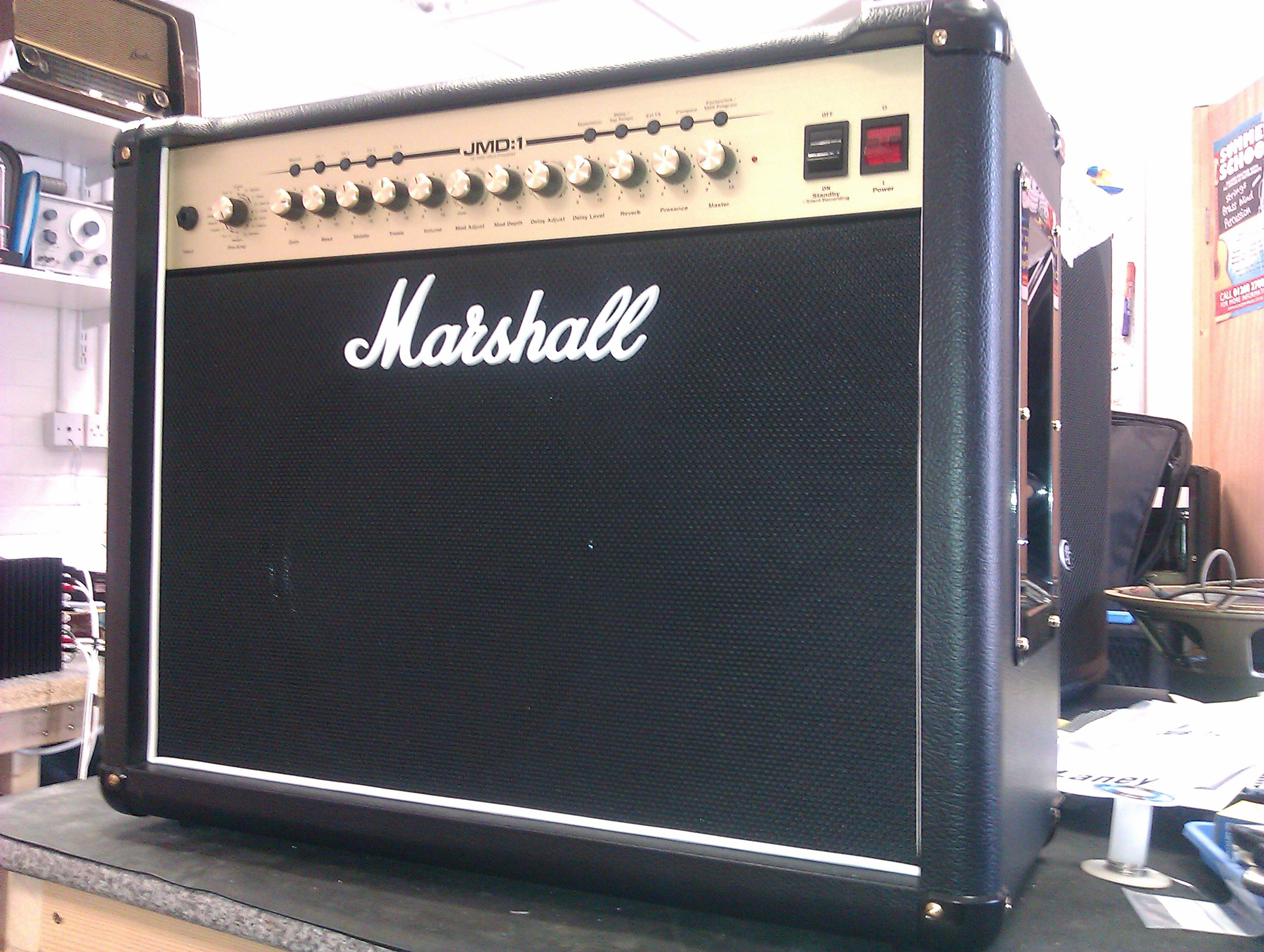 Marshall JMD-1, with traditional switches and piping