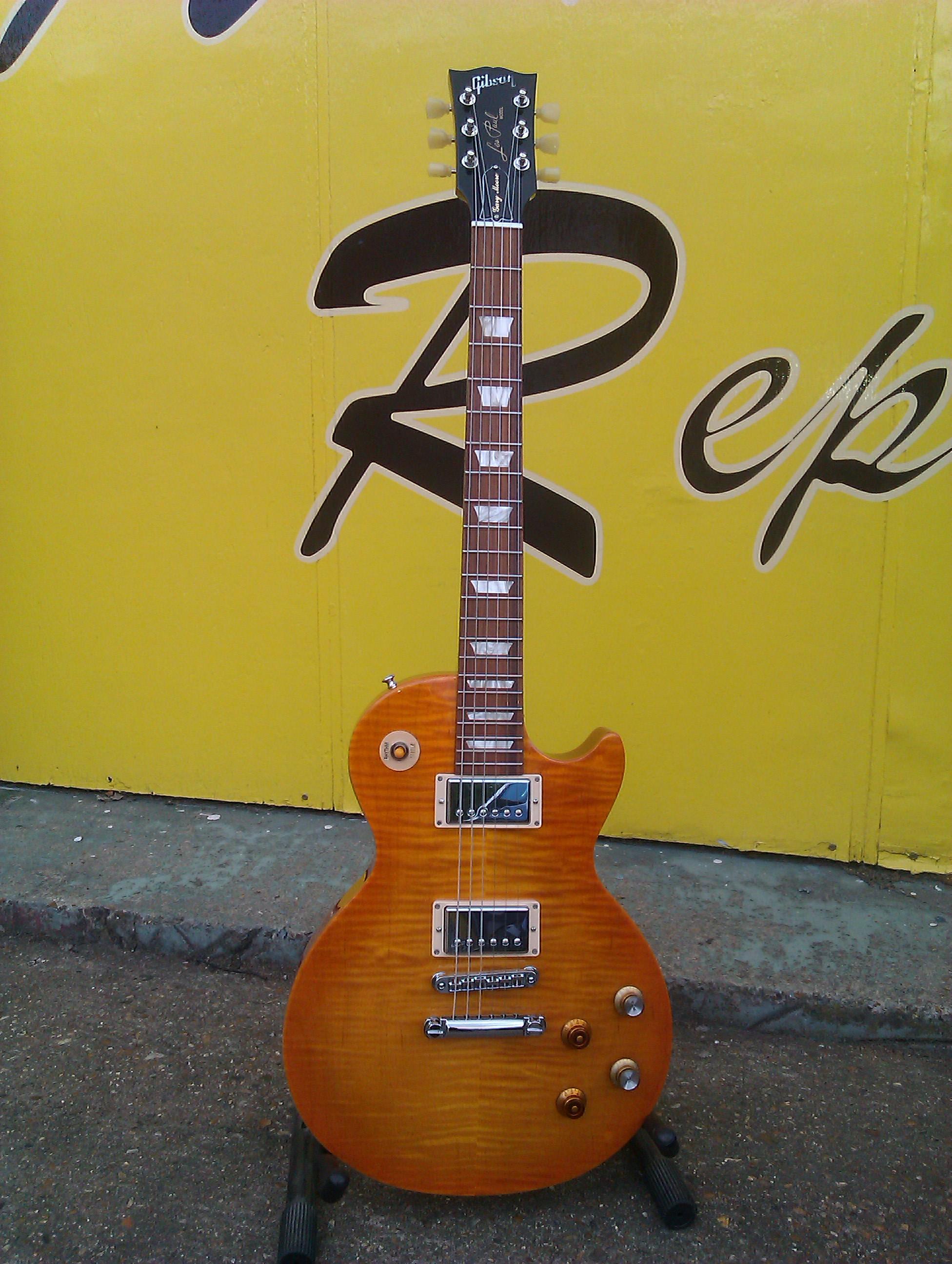 A signature signature guitar....