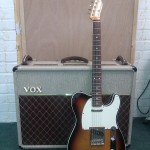 Fender Japan Telecaster Custom and Vox AC30 anniversary edition amp