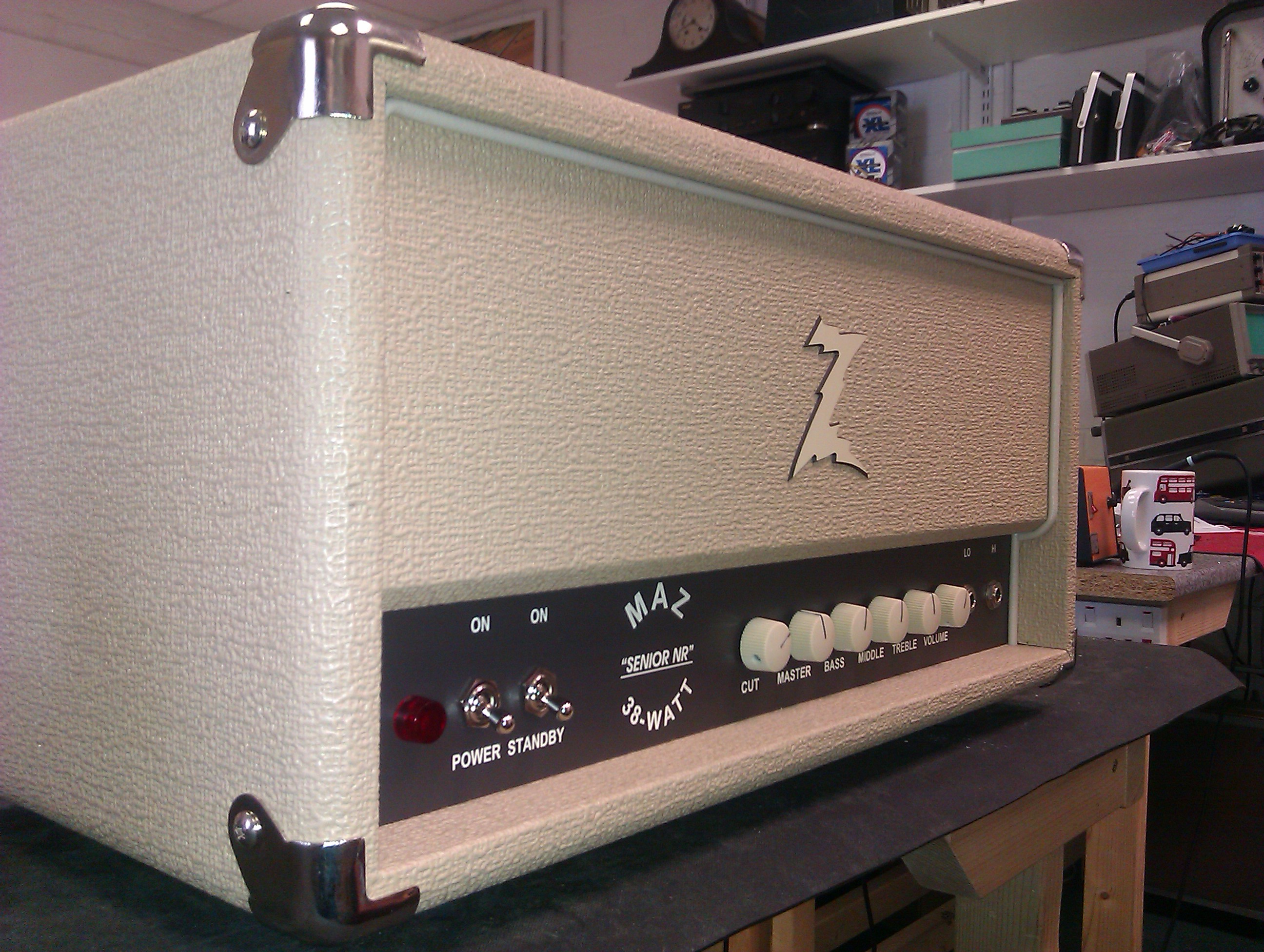 Dr Z Maz 38 Senior NR with Essex Amp Repairs variable level EQ bypass