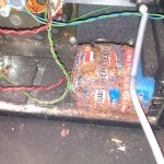 A reminder as to why you should remove batteries from items before they are stored away
