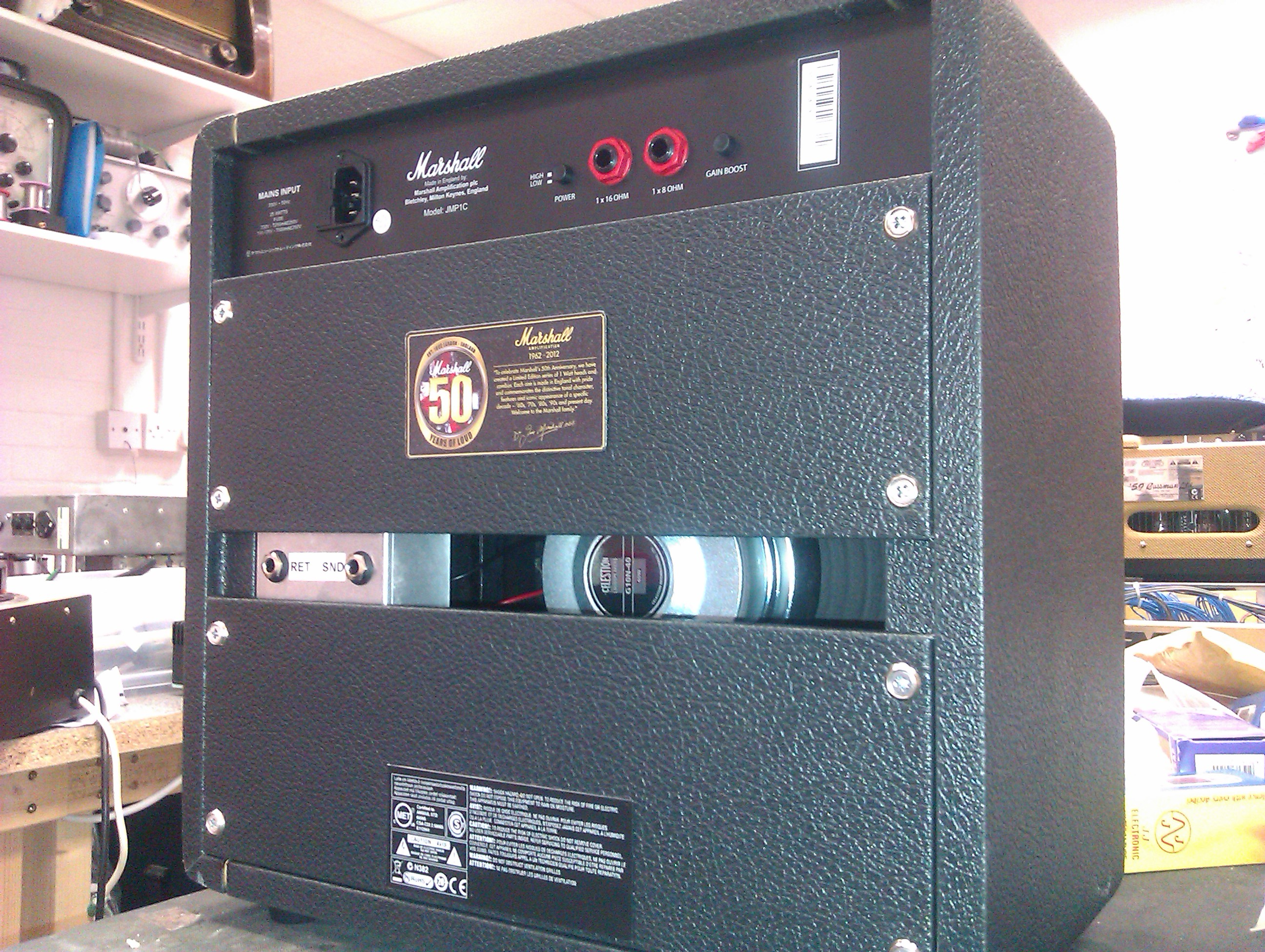 Marshall ltd edition 1W combo with Essex Amp Reapirs FX loop