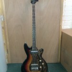 Early 60's short scale bass from Framus