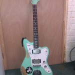 Jazzmaster turned into metal monster