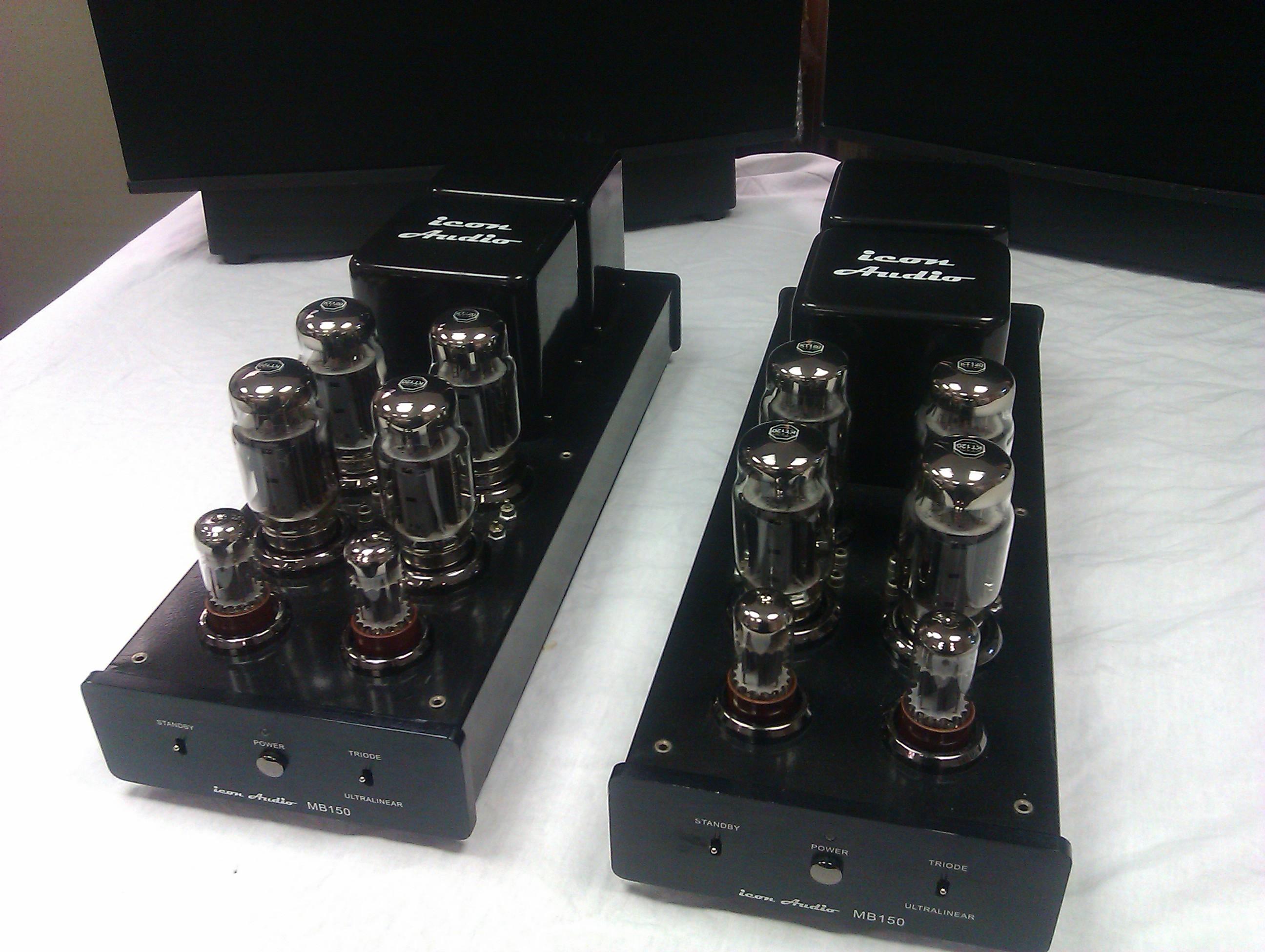 KT88 powered hi-fi delights