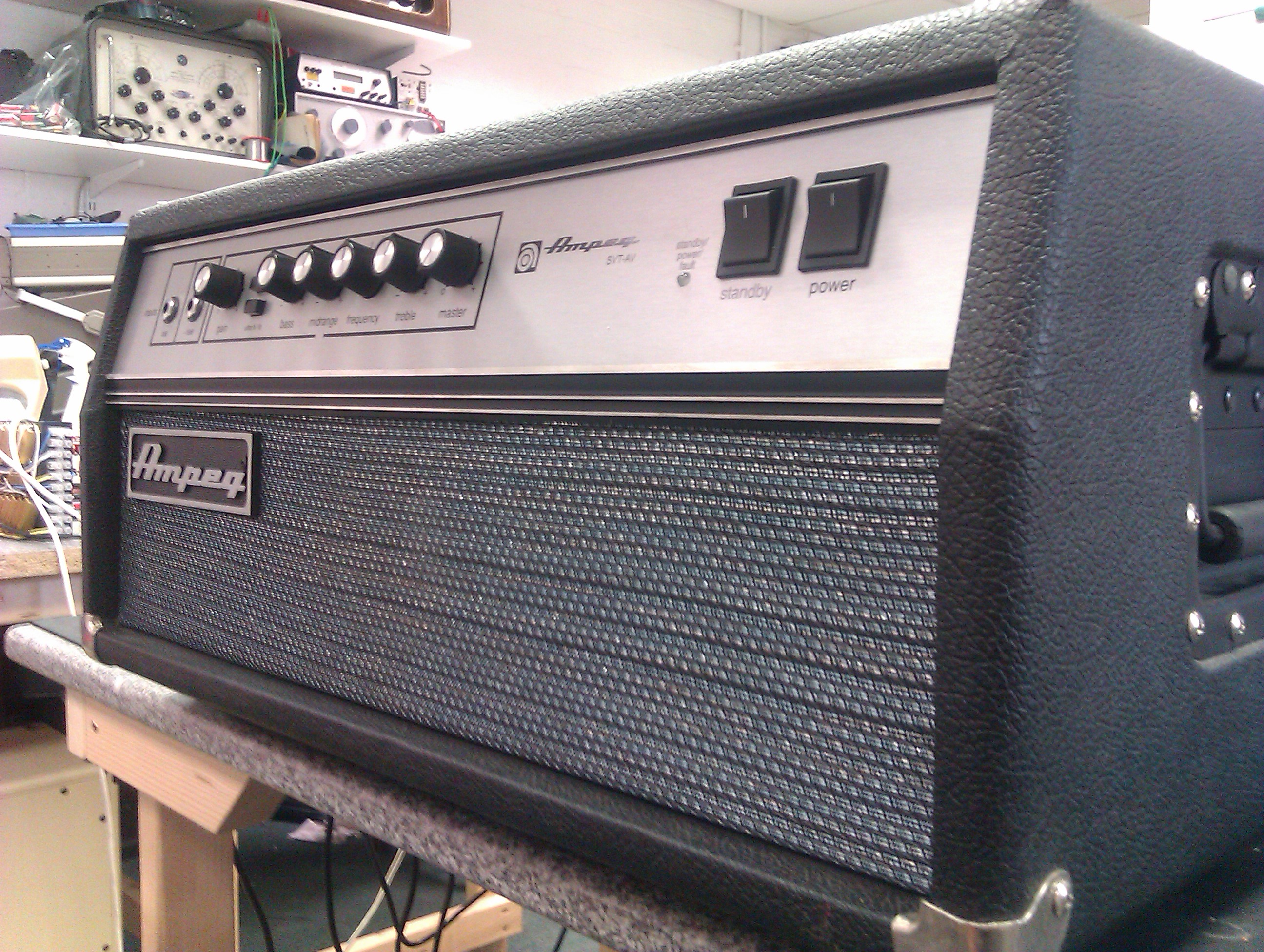 The big daddy of valve bass amplification