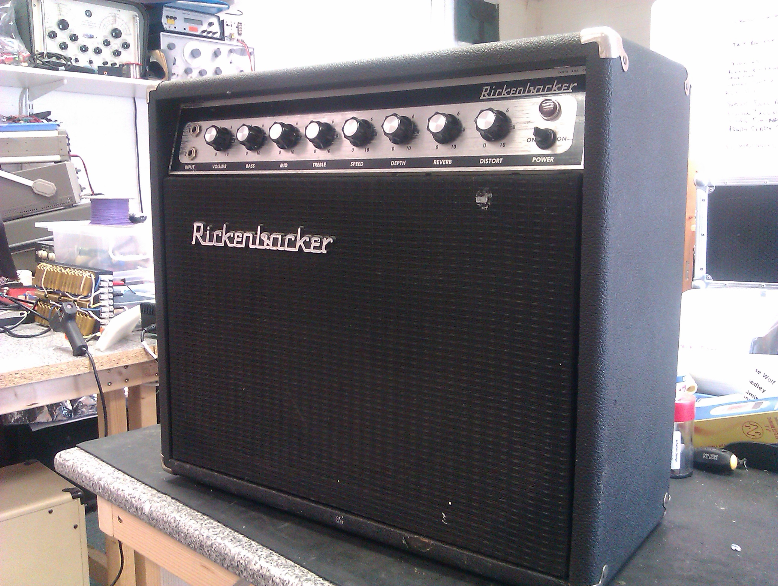 Rare solid state combo from the 70's